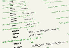 Source code Royalty Free Stock Images