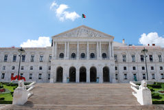 Assembly of the Republic of Portugal, Lisbon. Stock Images