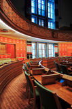 Assembly room, Oslo City Hall, NORWAY Royalty Free Stock Photo