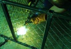 Assembly welding Stock Photo