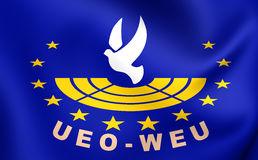 Assembly of the Western European Union Flag Stock Images