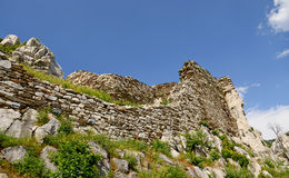 Assen's fortress in Bulgaria Royalty Free Stock Image
