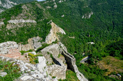 Assen's fortress in Bulgaria Stock Photography