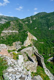 Assen's fortress in Bulgaria Royalty Free Stock Photo