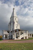 The Ascension Church in Kolomenskoye, Moscow Stock Photos