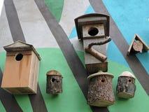 Assentamento-caixas Imagem de Stock