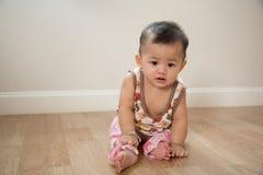 Assento bonito do bebê Fotos de Stock