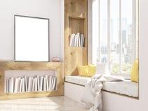 Assento da moldura para retrato e de janela Imagens de Stock