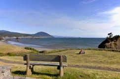 Assento da primeira fila, litoral de Oregon. Foto de Stock Royalty Free