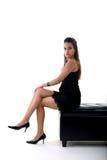 Assento da rapariga Foto de Stock Royalty Free