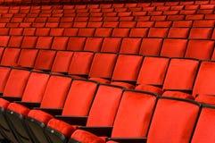 Assento da sala de concertos Imagem de Stock Royalty Free