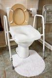 Assento da sanita ajustável da altura Imagem de Stock Royalty Free