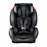 Assento da segurança da criança Banco de carro do bebê isolado nos wi brancos do fundo Fotografia de Stock