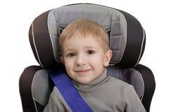 Assento de carro da segurança imagem de stock
