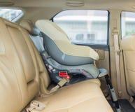 Assento de carro do bebê imagens de stock