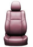 Assento de couro do carro Fotos de Stock