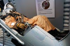 Assento de ejeção da nave espacial Imagens de Stock