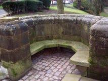 Assento de pedra Foto de Stock