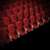 Assento do cinema Fotos de Stock Royalty Free
