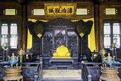 Assento do império chinês Foto de Stock