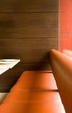 Assento do restaurante Foto de Stock