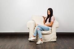 Assento e conversa imagens de stock royalty free