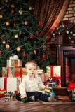 Assento entre brinquedos Imagem de Stock Royalty Free