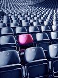 Assento original do estádio Fotografia de Stock
