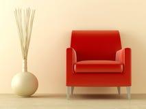 Assento vermelho Imagens de Stock Royalty Free