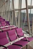 Assento violeta da porta de ar Fotos de Stock Royalty Free