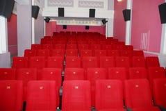Assentos 2 do cinema Imagem de Stock