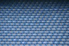 Assentos 4 do futebol Fotos de Stock