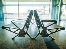 assentos 27-Airport Imagem de Stock Royalty Free