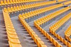 Assentos alaranjados Imagens de Stock Royalty Free