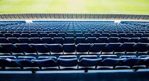 Assentos azuis Imagens de Stock