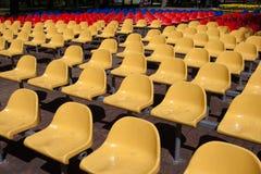 Assentos coloridos Imagens de Stock
