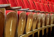 Assentos da ópera Foto de Stock Royalty Free