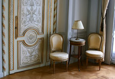 Assentos da antiguidade fotografia de stock royalty free