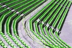 Assentos da audiência Fotos de Stock