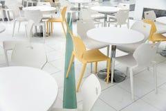 Assentos da cafetaria Foto de Stock Royalty Free