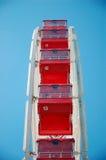 Assentos da roda de Ferris Imagens de Stock Royalty Free
