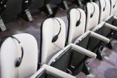 Assentos da sala de conferências Fotografia de Stock Royalty Free