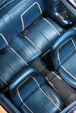 Assentos de carro clássicos Fotografia de Stock