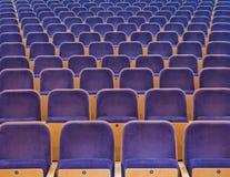 Assentos de espectadores Imagem de Stock