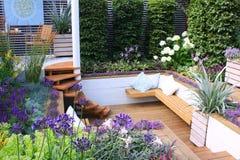Assentos de jardim Fotos de Stock Royalty Free