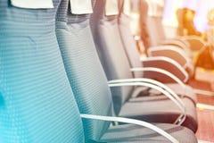 Assentos de passageiros da balsa Imagem de Stock