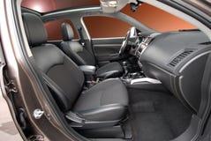 Assentos dianteiros no carro do passinger Fotos de Stock Royalty Free