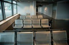 Assentos do aeroporto Fotos de Stock Royalty Free