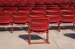 Assentos do auditório Imagem de Stock