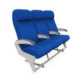 Assentos do avião isolados Imagem de Stock